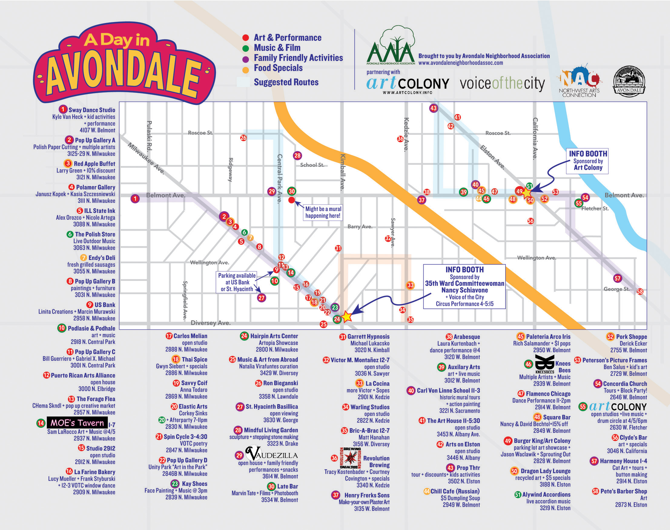 A Day in Avondale | An arts walk of neighborhood oddities